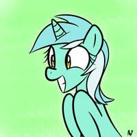 Heeeeeeeeeeeeeere's Lyra! by DatAhmedz