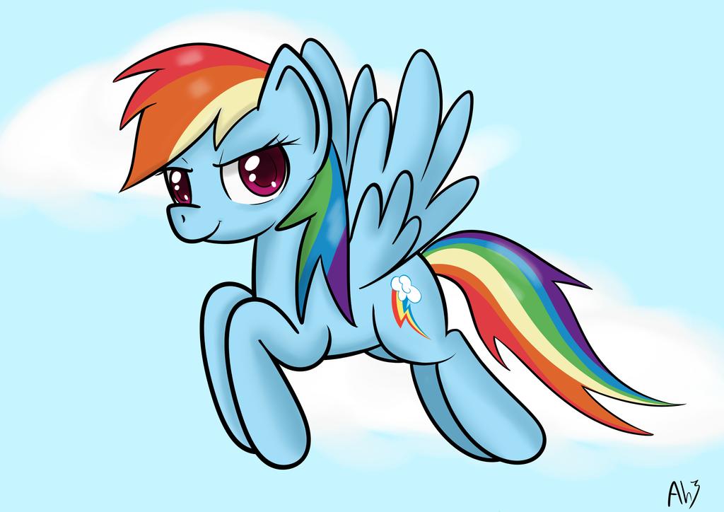 Rainbow Dash by DatAhmedz