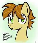Happy Birthday MandoPony!
