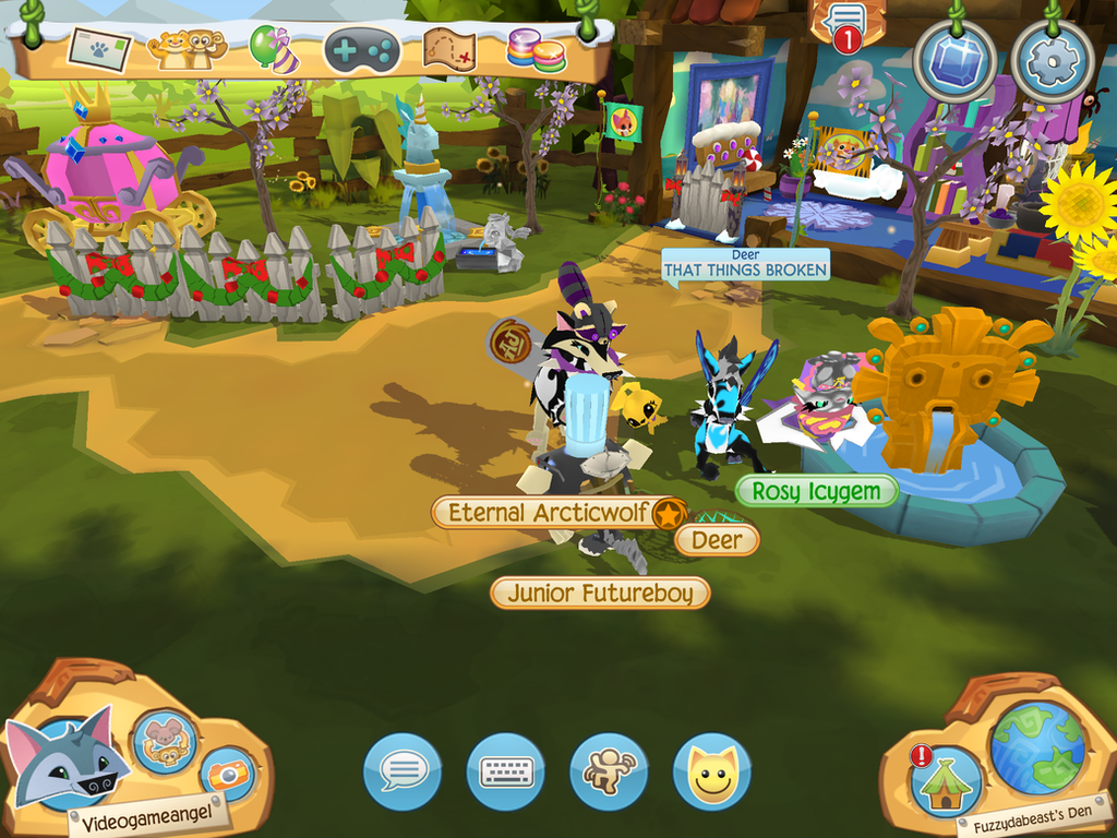 how to play animal jam play wild on computer