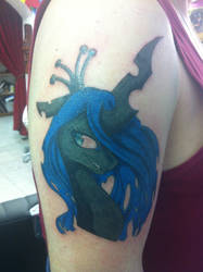 My second Queen Chrysalis Tattoo