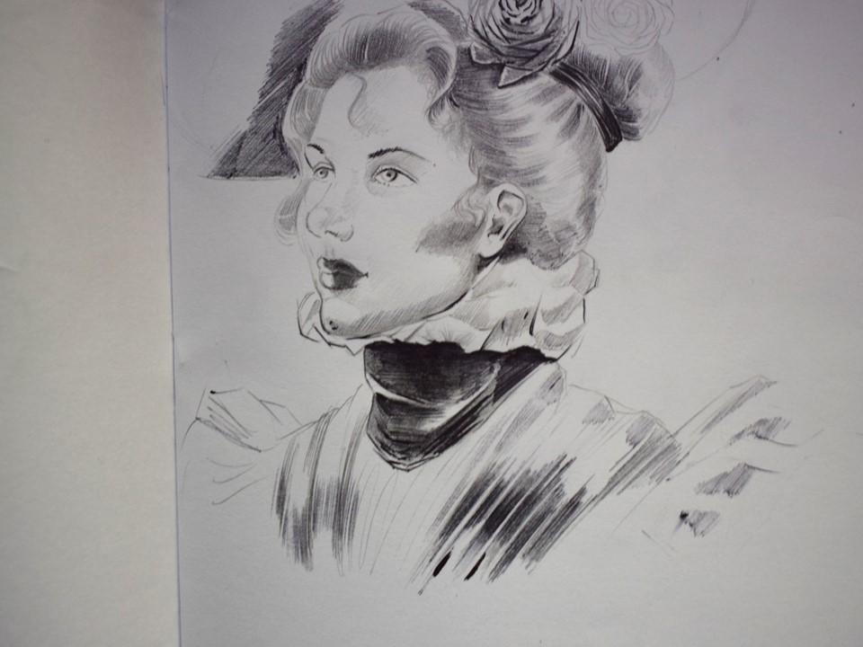 Victorian Lady by RyanSharqui