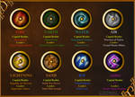 TLOS Dragon Elemental Emblems by Tank-Dragon
