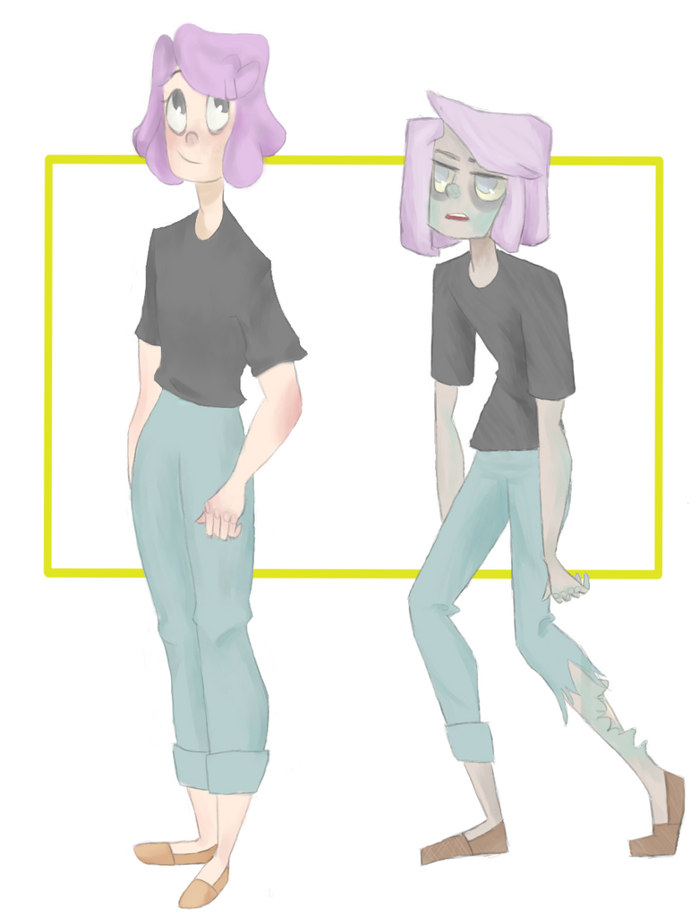 Zoey The Zombie by sprinkles1766