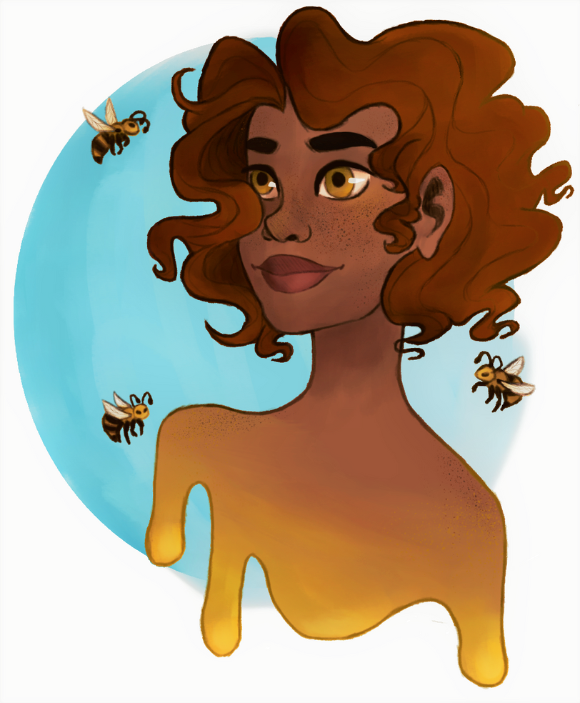 Honey Bees by sprinkles1766