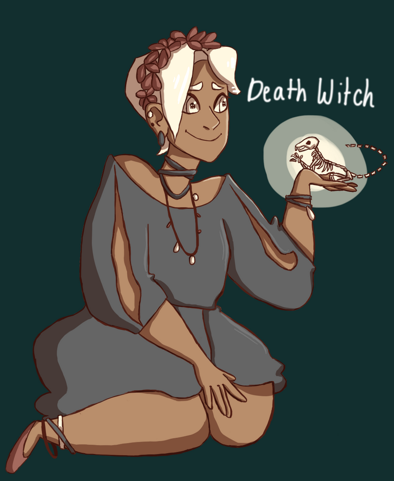 Death Witch by sprinkles1766