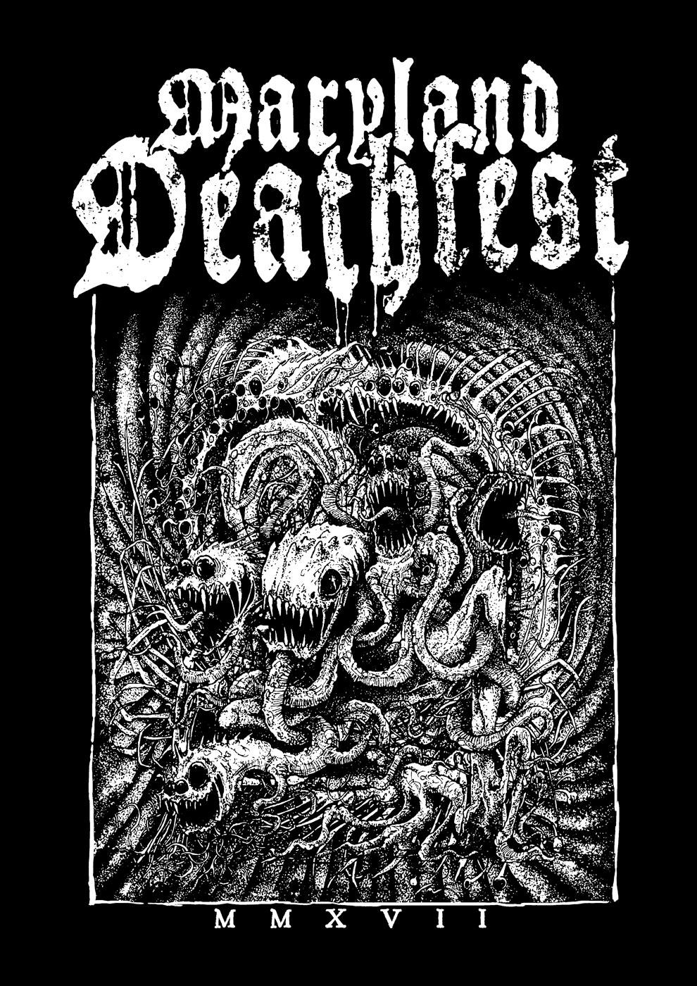 Shirt Design for MARYLAND DEATHFEST 2017