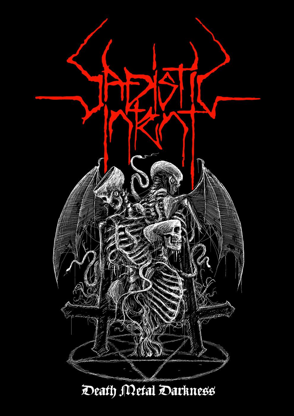 Shirt Design for SADISTIC INTENT