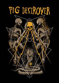 Shirt Design for PIG DESTROYER
