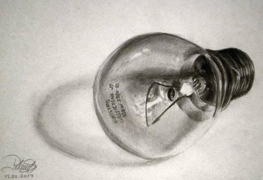 DiegoKoi's 'Una buona idea'   Lightbulb drawing