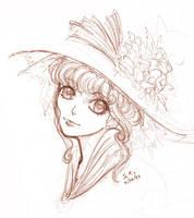 Shoujo Sketch by AquaVarin