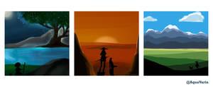 Quick Landscape Set #1