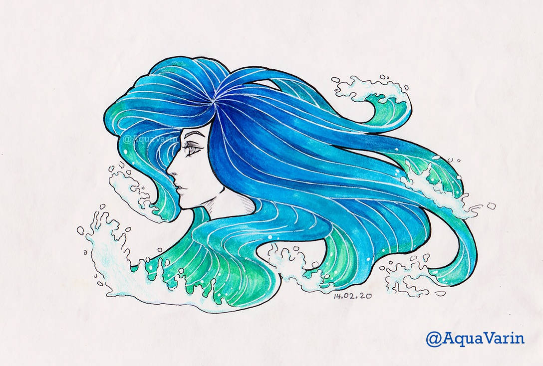Lady of the Waves