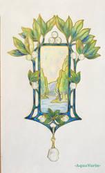 Fouquet pendant study #1 by AquaVarin