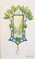 Fouquet pendant study #1