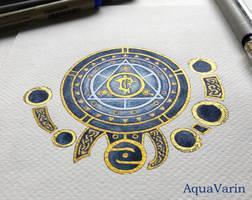 Seal of Lordaeron by AquaVarin