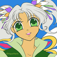 Candy Fairy - flat coloring by AquaVarin