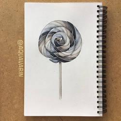 Grey Lollipop
