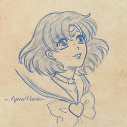 Sailor Mercury Sketch