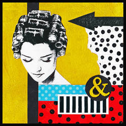 Curlers and Polka Dots
