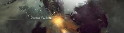Dragon Vs. Man by EagleDisillusion