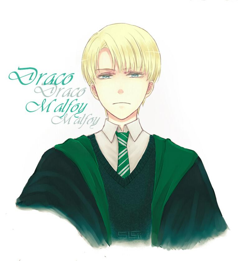 HP - Draco Malfoy by sleii on DeviantArt