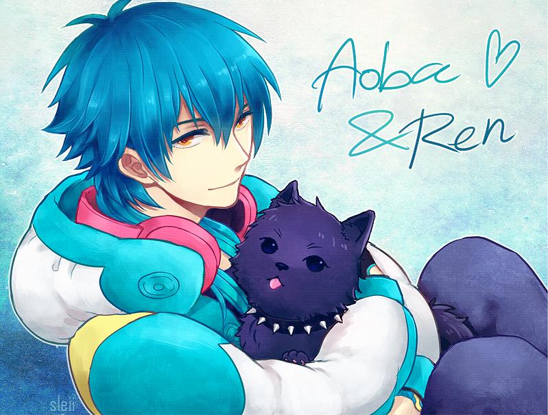 DMmd - Aoba and Ren by Sleii-no-baka