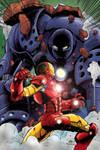 Iron Man Iron Monger Colours