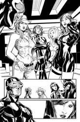 Uncanny X-Men #514 by Terry Dodson inks by IanDSharman