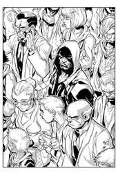 Inhuman Cover by Joe Madureira inks by IanDSharman