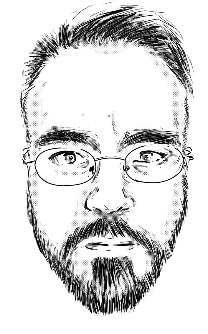 Self Portrait by IanDSharman