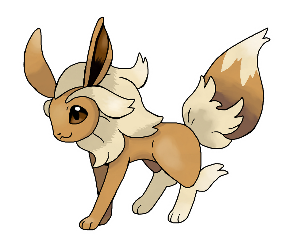 mega eevee by lucas costa on deviantart