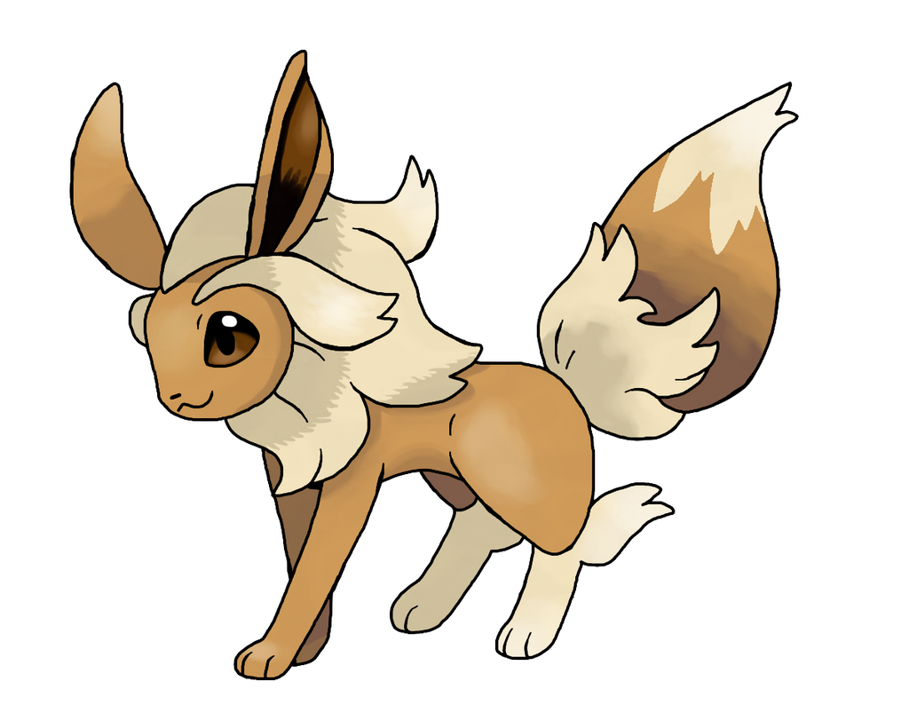 Mega Eevee by Lucas-Costa on DeviantArt