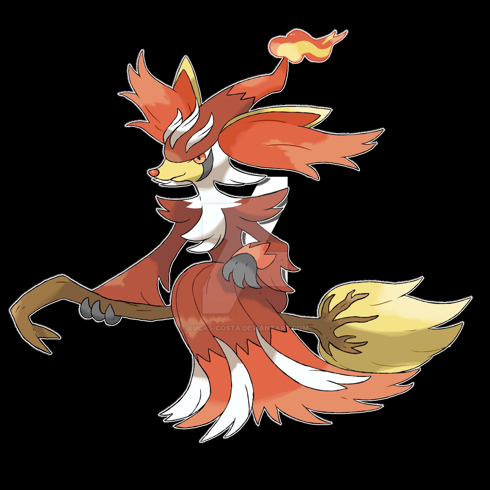 Mega Delphox Pokemon Images | Pokemon Images