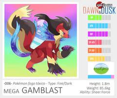006 - MEGA GAMBLAST by Lucas-Costa