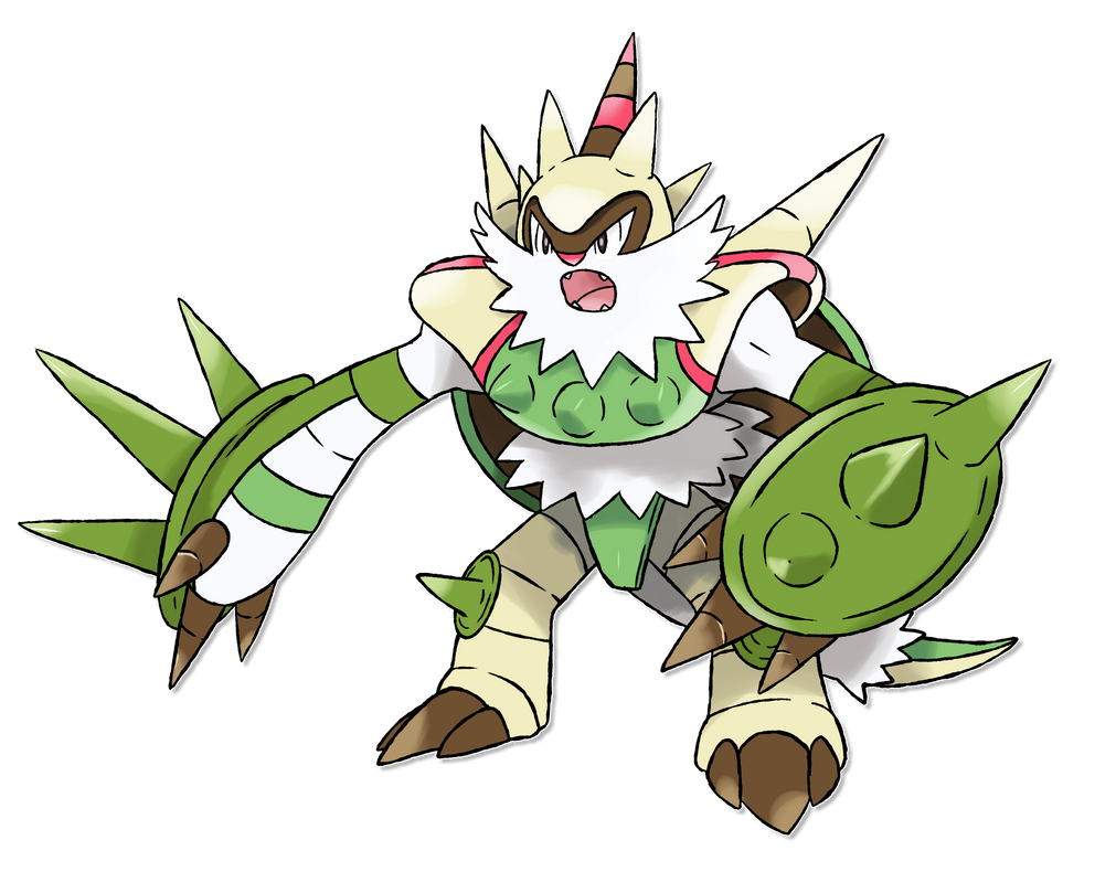 Image Gallery mega chesnaught
