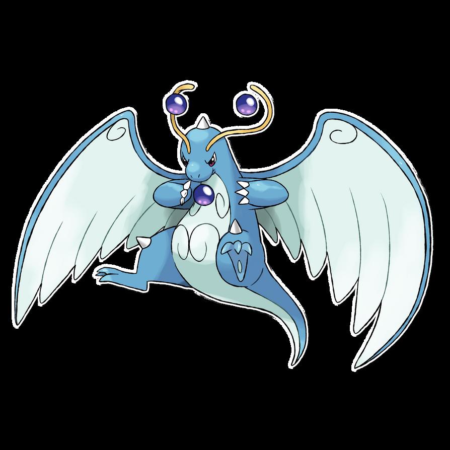 Pokémon sprite fusion #7: Mega Dragonite, Dragonitite v2 - YouTube