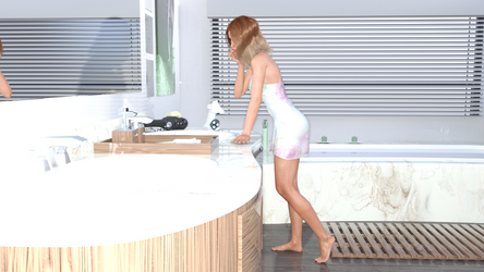 Adaline By The Sink by Oddman26