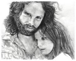 Karine's Desperate Romantics: Jim and Pam by shuckaby