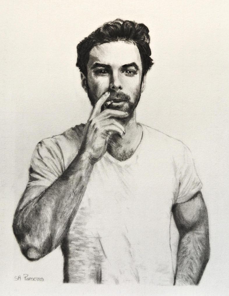 Aidan Turner from a Photo by Dean O'Gorman by shuckaby