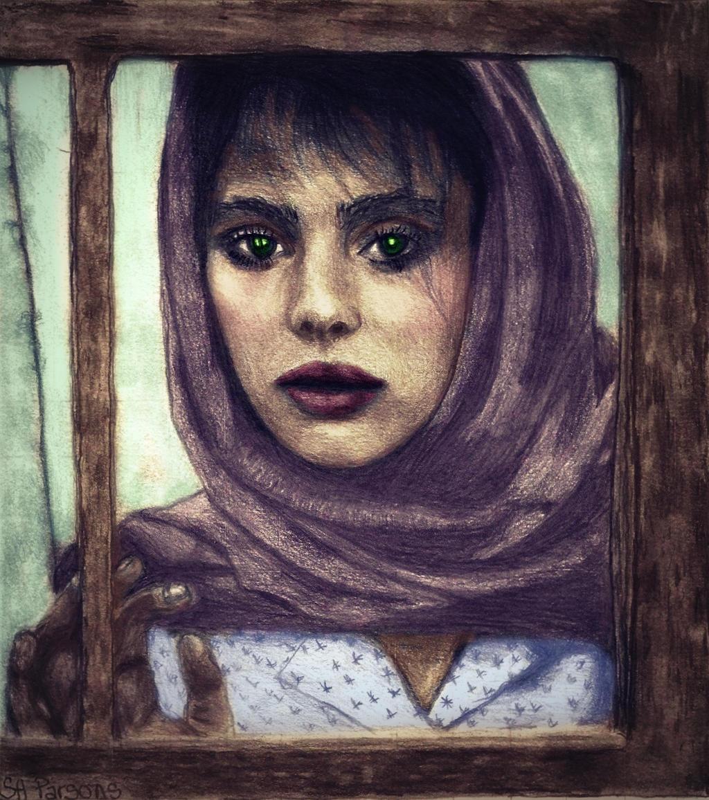 Nastassja Kinski As Tess Colorized by shuckaby