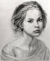 Ksenia in Graphite #2 by shuckaby