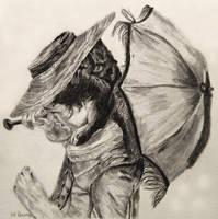Pencil: Poldark Parasol by shuckaby