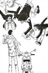 mod versus rockers by iancogneato