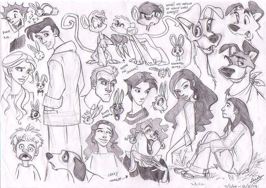 Sketch 17 by Sandora
