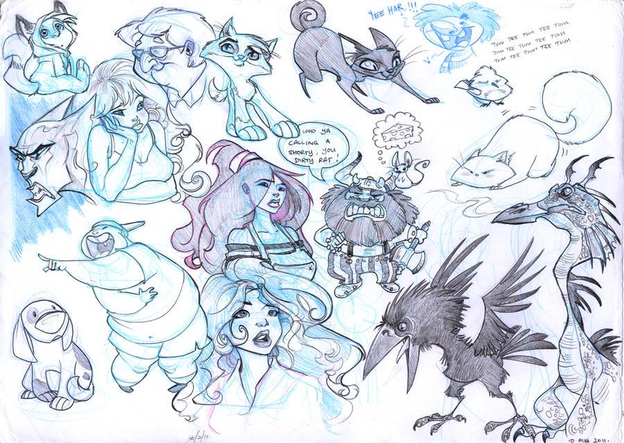 Sketch Aug 2011 by Sandora
