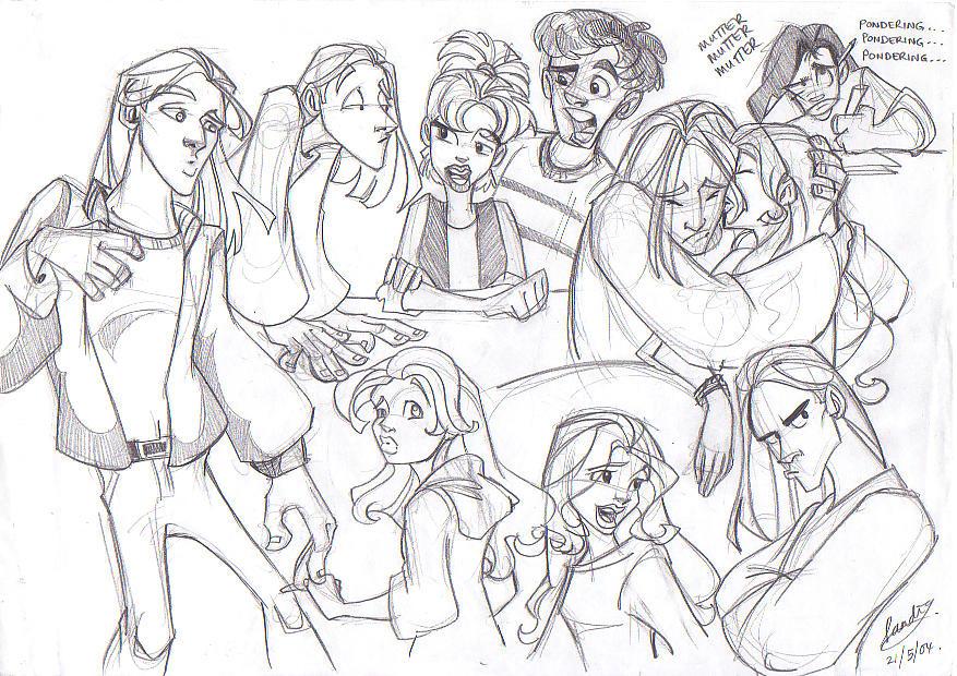 Sketch 21 by Sandora