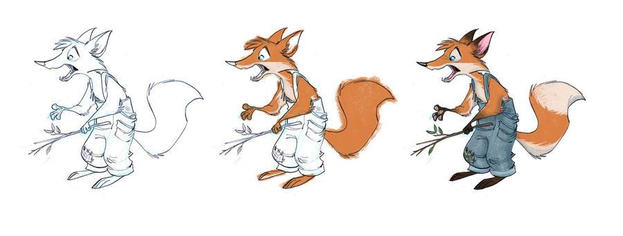 Foxy by Sandora