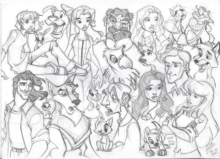 Main Sketch by Sandora