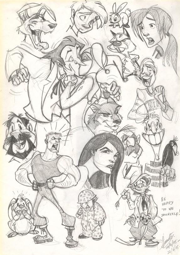 Sketch 28 by Sandora